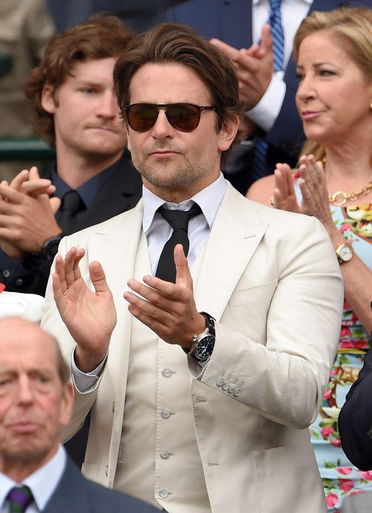 Bradley Cooper - Wimbledon 2015: Celebrity Pictures | Harper's Bazaar