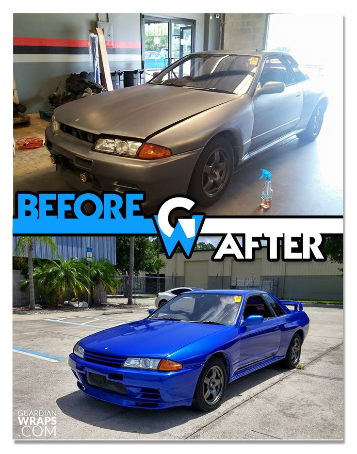 12 best before afters vehicles images on pinterest vehicle 1989 nissan skyline r32 blue vinyl wrap guardian wraps before and after fandeluxe Images