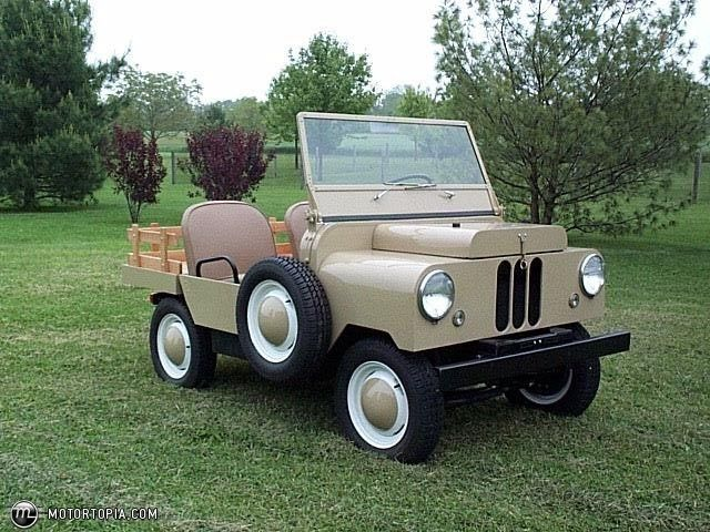 crosley cars | Photo of a 1950 Crosley Farm-O-Road (Farm-O-Road)