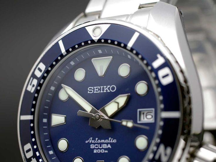 SEIKO Prospex 200M Diver Automatic SBDC003 Blue