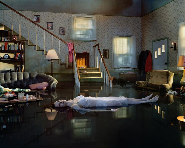 Gregory Crewdson's 'Untitled (Ophelia)' from his Twilight series (2001)