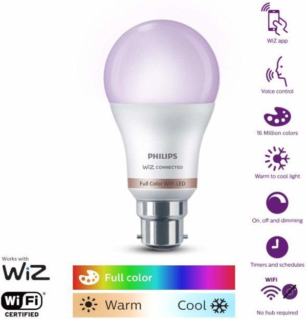 Smart Led Bulb Of 16m Colours Led Bulb Smart Bulb Philips