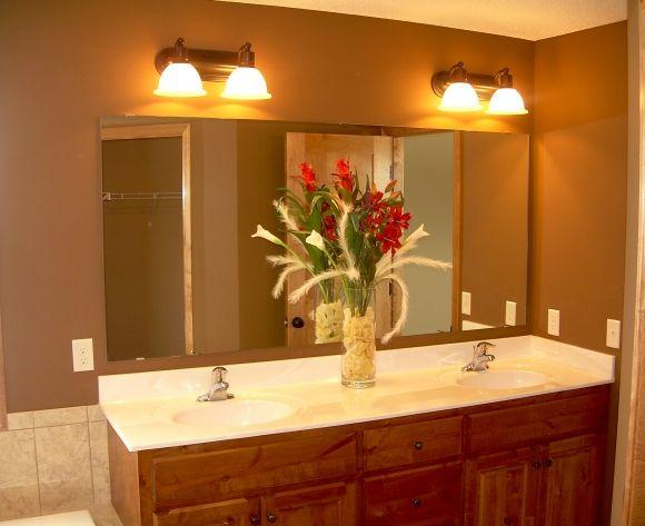 Bathroom Mirrors Double Sink Vanity 42 best house images on pinterest | double sink vanity, bathroom