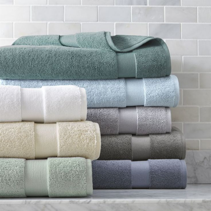 Shop Turkish Cotton 800-Gram Bath Towels.  Luxurious Turkish cotton yarn weaves an extremely plush, dense and incredibly soft towel.