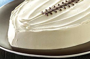 Gâteau « ballon de football » pour le jour du match