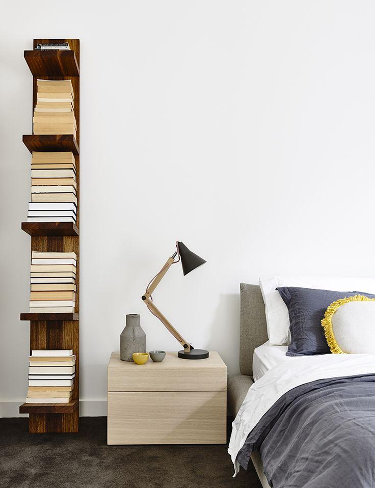 Bedroom by Inform Studio with Pleysier Perkins Architects. Image - Derek Swalwell.