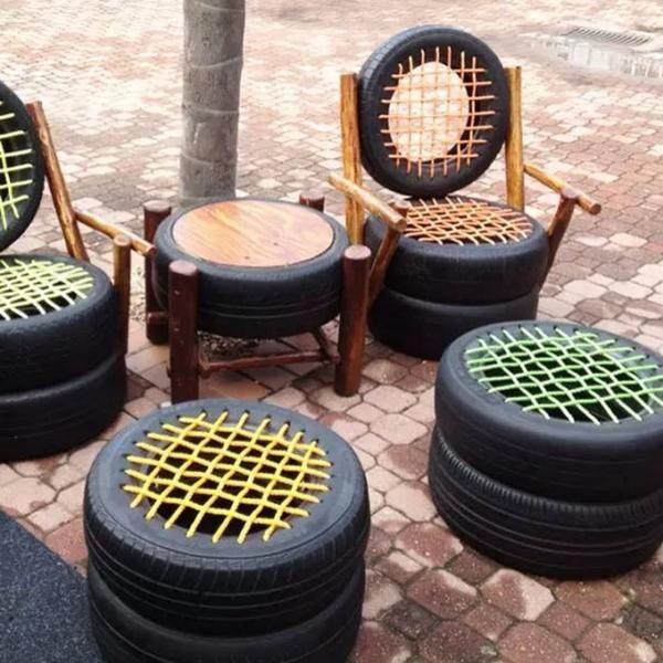 Садовая мебель своими руками и другие полезности для дачи