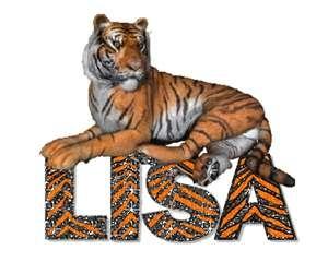 lisa name graphic