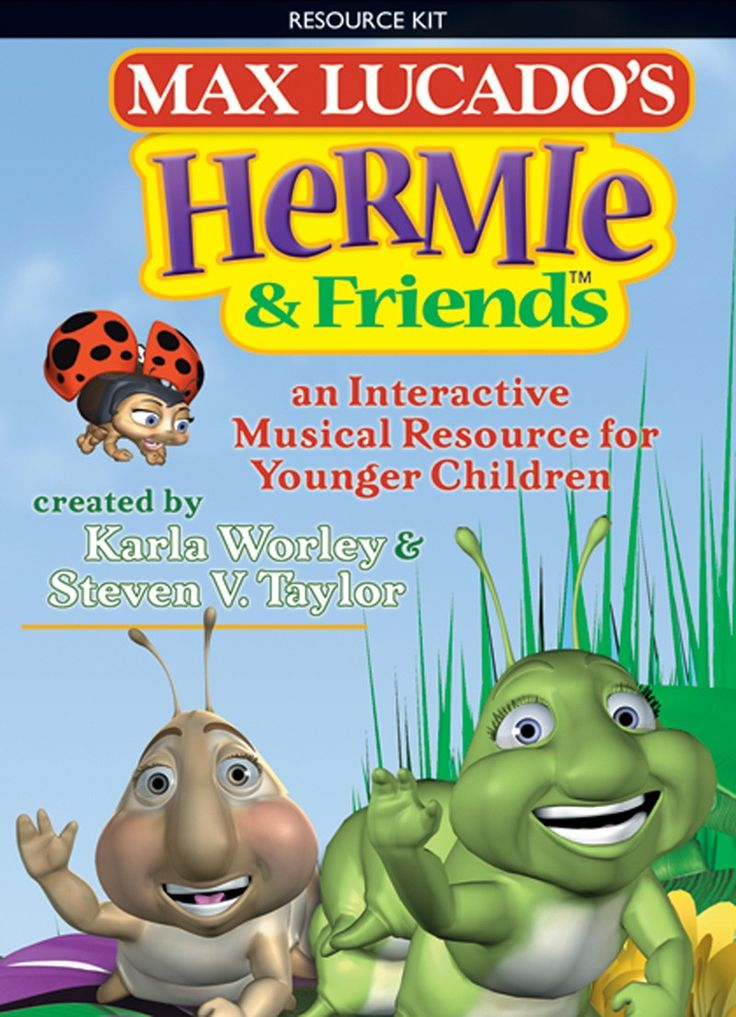 Masterful storyteller Max Lucado's world of Hermie can now come alive in your church with the interactive musical Hermie & Friends. This collaboration by Word Music, Tommy Nelson Publishers, lyricist Karla Worley and arranger Steven V. Taylor weaves the world of the animated caterpillar together with your children in several flexible, DVD-based musical segments that include song, movement and narration.