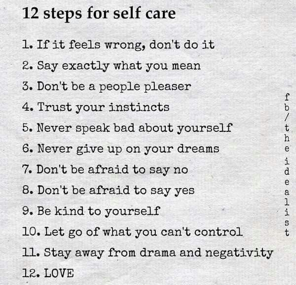 Note to self!!!