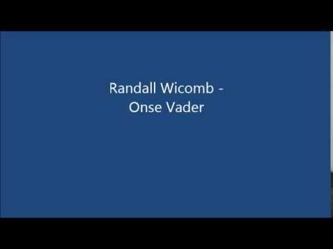 "Randall Wicomb ~ ""Onse Vader"" ~ YouTube"