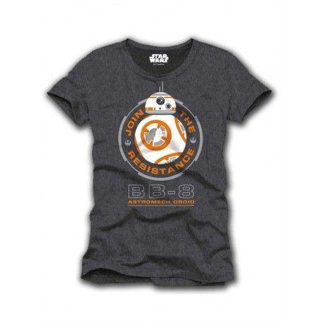 Camiseta oficial Star Wars con el nuevo personaje de la peli, BB-8. Realizada en 100% algodón y con un diseño absolutamente espectacular!!! Un regalo perfecto para ese amigo amante de Harry Potter que no lo oculta en ningún sitio.