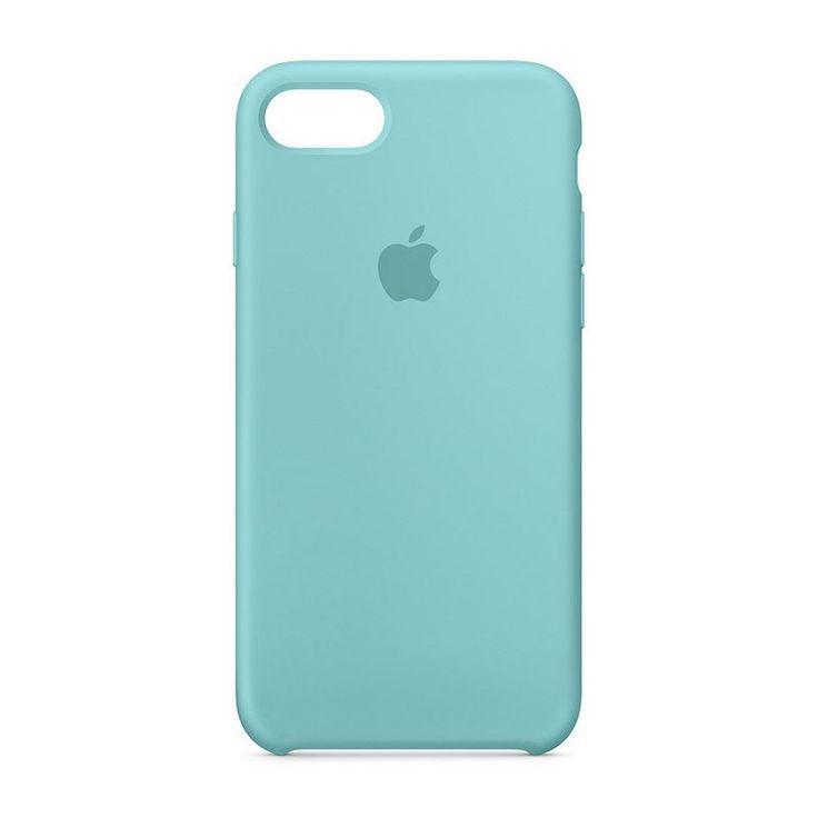 Apple iPhone 7 Silicone Case - Blue Iphone 8 Plus Case - Ideas of ...