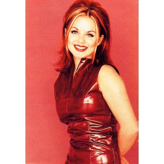 """Geri - Spice album - 1996! ✌️ #spicegirls #spice #album #music #photoshoot #Ginger #GeriHalliwell #90s @therealgerihalliwell"""