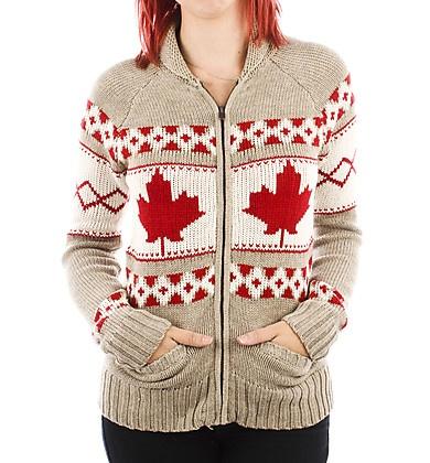 Maple Leaf Cowichan Sweater xx motif inspiration salish