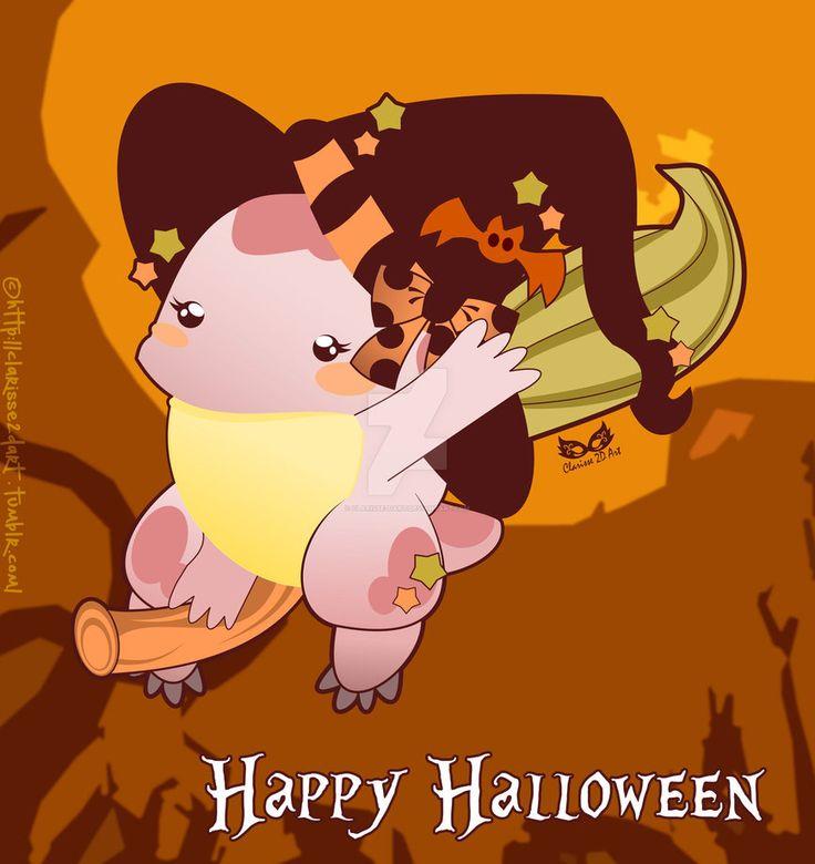 [GuildWars 2 - FanArt] - Happy Halloween by Clarisse2DArt.deviantart.com on @DeviantArt