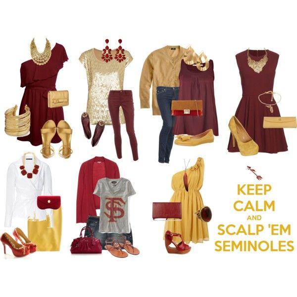 FSU Gameday Wear, created by davism6 on Polyvore