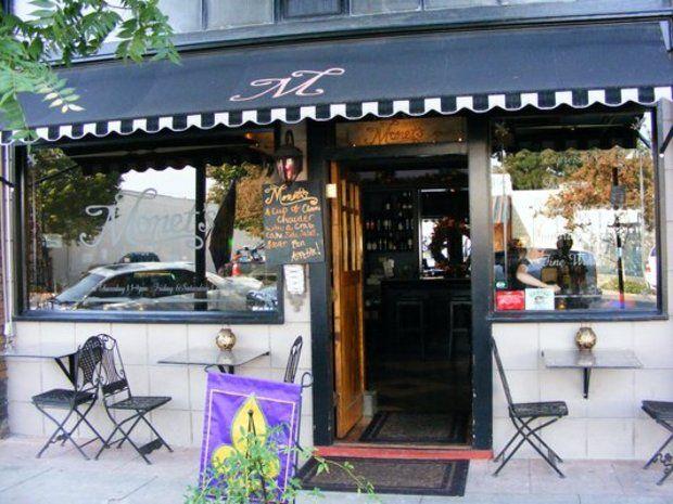 Monet's Wine Bistro. Exeter, California