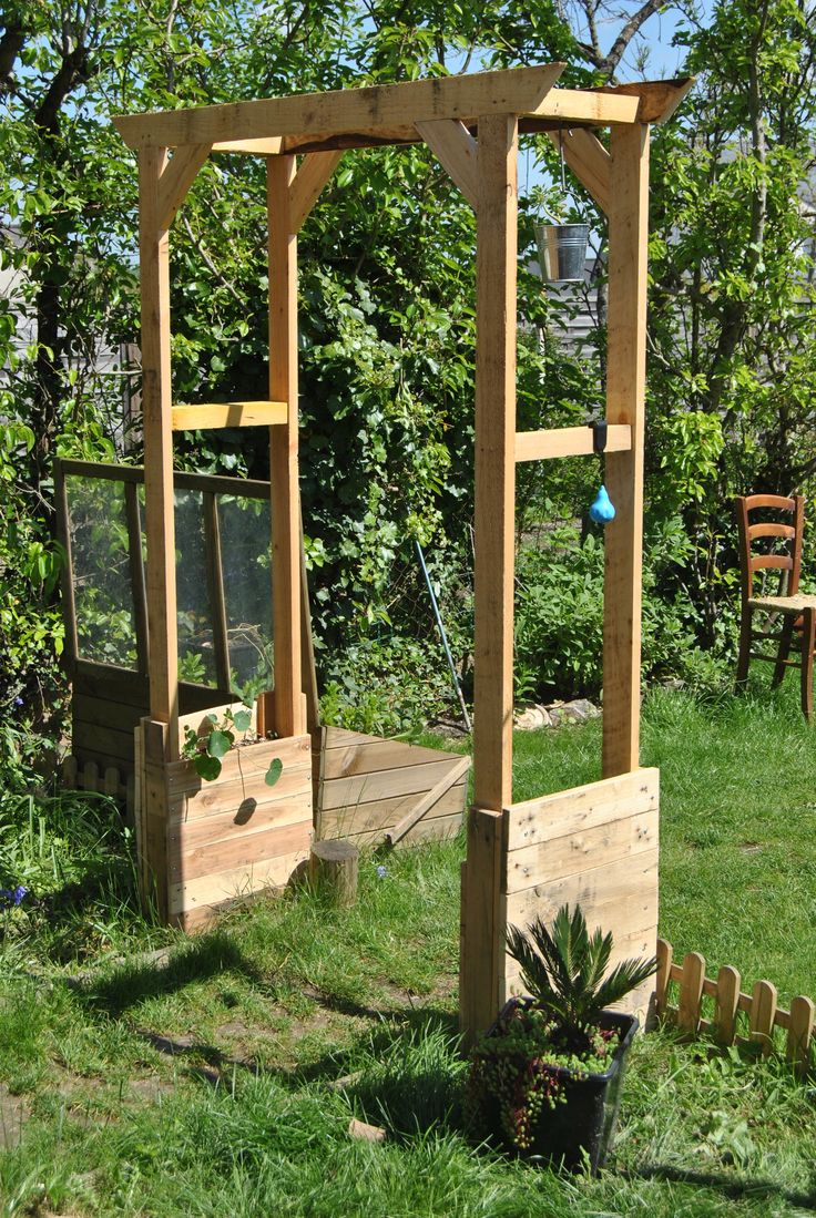 Arche en bois Instructions de montage Do-it-yourself | jardin ...