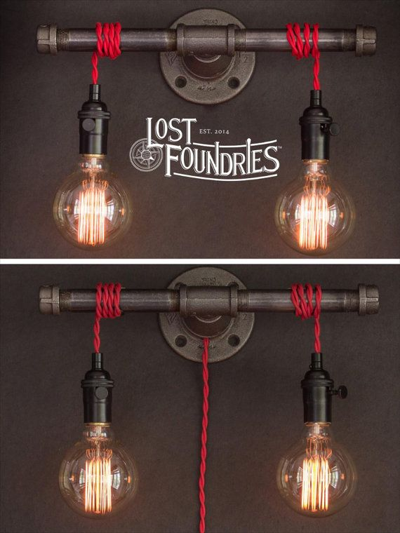 Wilbur Industrial Pipe Sconce                                                                                                                                                                                 More