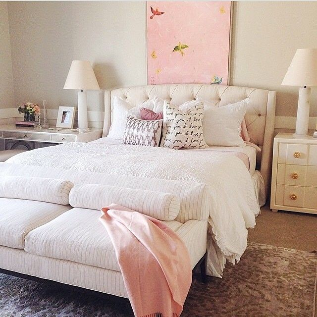 A Dreamy Master Bedroom Designed By Alice Lace Home. The