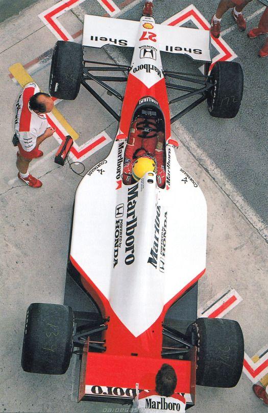 Ayrton Senna McLaren Honda 1990