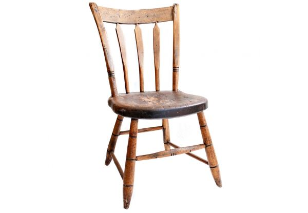 Handmade Rustic Arrowback Chair   Handmade Antique Arrowback Chair With  Gorgeous Patina. The Seat Is