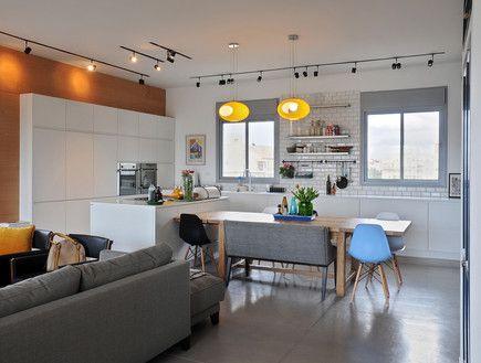 בשיפוץ: מדירת קבלן סטנדרטית לדירת יוקרה