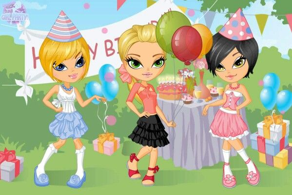 Birthday party time