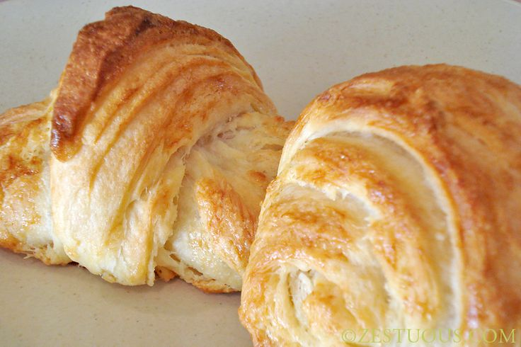 Croissant recipe as taught at Le Cordon Bleu in Paris