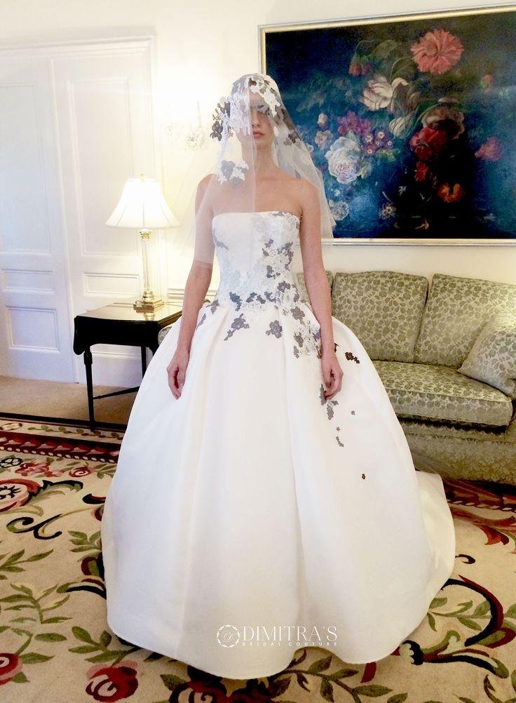 Edgardo Bonilla wedding dresses available at Dimitra's Bridal Couture in Chicago www.DimitrasBridal.com #edgardo #edgardobonilla #weddingdress #weddinggown #ballgown #aline #sparkle #lace #longsleeve #tznius #tzniut #tsnius #tsniut #orthodoxbride #conservativebride #chuppa #orthodoxjewishbride #orthodoxwedding #custom #weddinggown #mazeltov #jewishweddings #classic #timeless #princess #romantic #whitedress #bridalcouture #modest #modestbride #modestweddingdress #bridal #laceapplique…