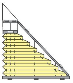 Die besten 25 dreieckiges haus ideen auf pinterest bali haus eine rahmen kabine und ein rahmen - Verdunkelung fur dreiecksfenster ...