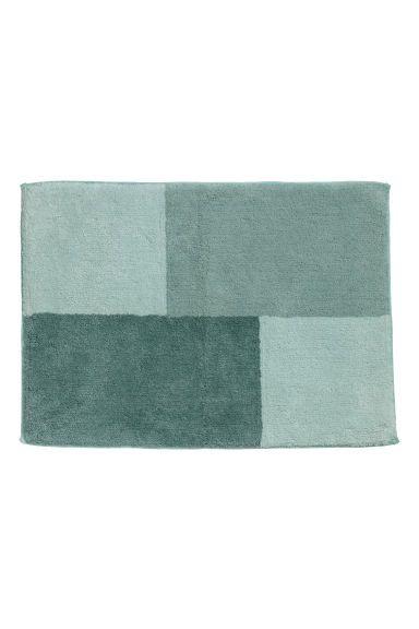 Blokkfarget badematte - Lys grønn/Flerfarget - Home All | H&M NO 1