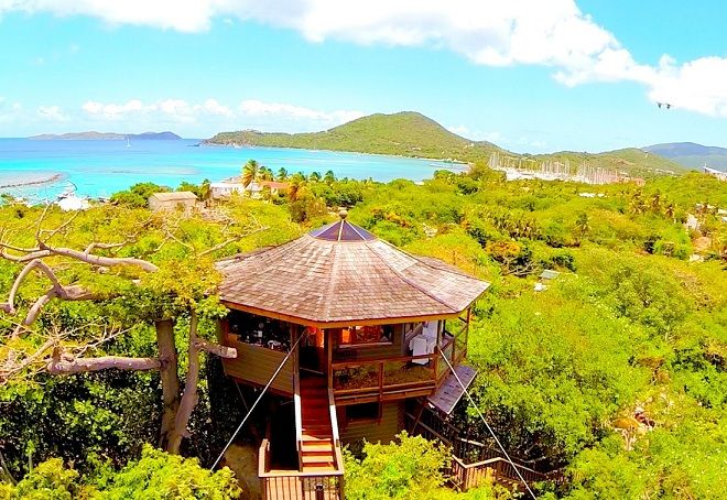 Our list of the best Virgin Gorda bars will provide you with plenty of island locations where you can just relax and sip from a coconut!