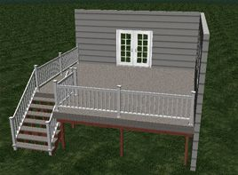 Want to design your own deck plan? Check our TimberTech's Free online deck designer.