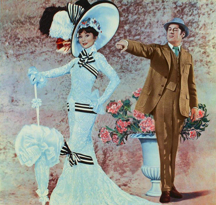 My Fair Lady - Audrey Hepburn & Rex Harrison