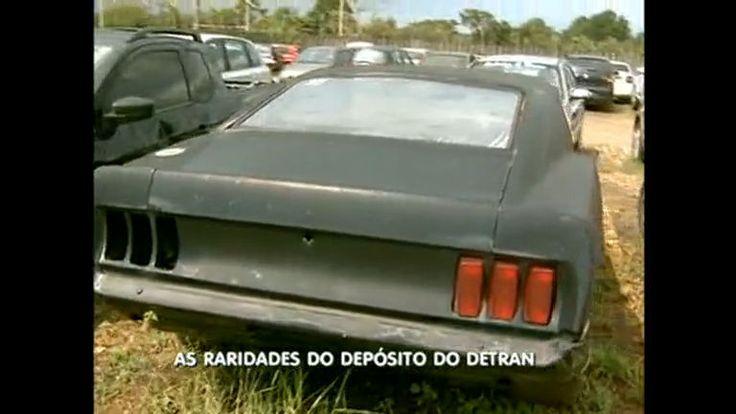 Depósito do Detran-DF abriga raridades como um Mustang 69 - Vídeos - R7