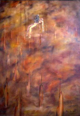 Agonia 2004 Oleo s tela  50 x 70