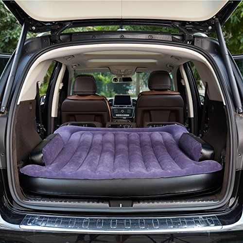 SINYOS Car Mobile Cushion Air Bed Bedroom Inflation Mobile Inflation Travel Thicker Back Seat Cushion Air Bed for SUV >>> Check out this great product.(This is an Amazon affiliate link and I receive a commission for the sales)