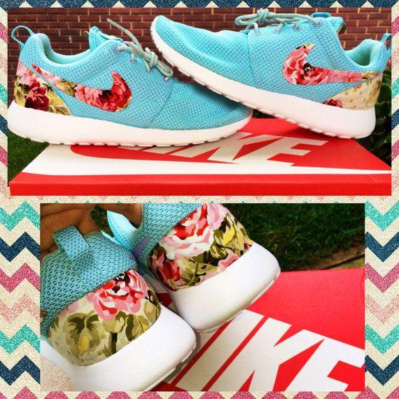 Nike Custom Women's Roshe Run by ConverseCustomized on Etsy, $130.00