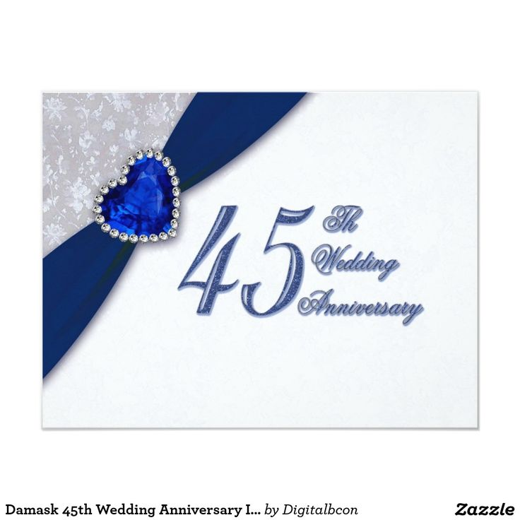 13 Best 45th Wedding Anniversery Images On Pinterest Anniversary