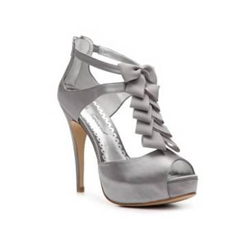 Silver heels DSW | Dream Wardrobe | Pinterest