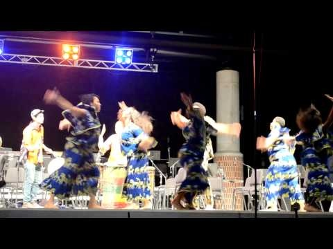 Santa Maria - Agbedidi West African Dance Performance