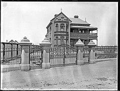 Quigley's house, Stockton, NSW, 16 November 1897