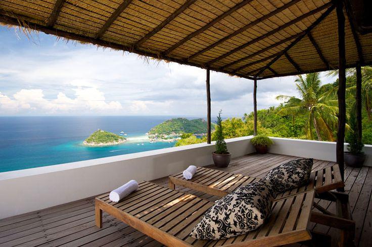 Balcony: Outdoor Rooms, Balconies, The Ocean,  Terraces, Tropical Beaches, Sea View, Beaches Houses, House, Sun