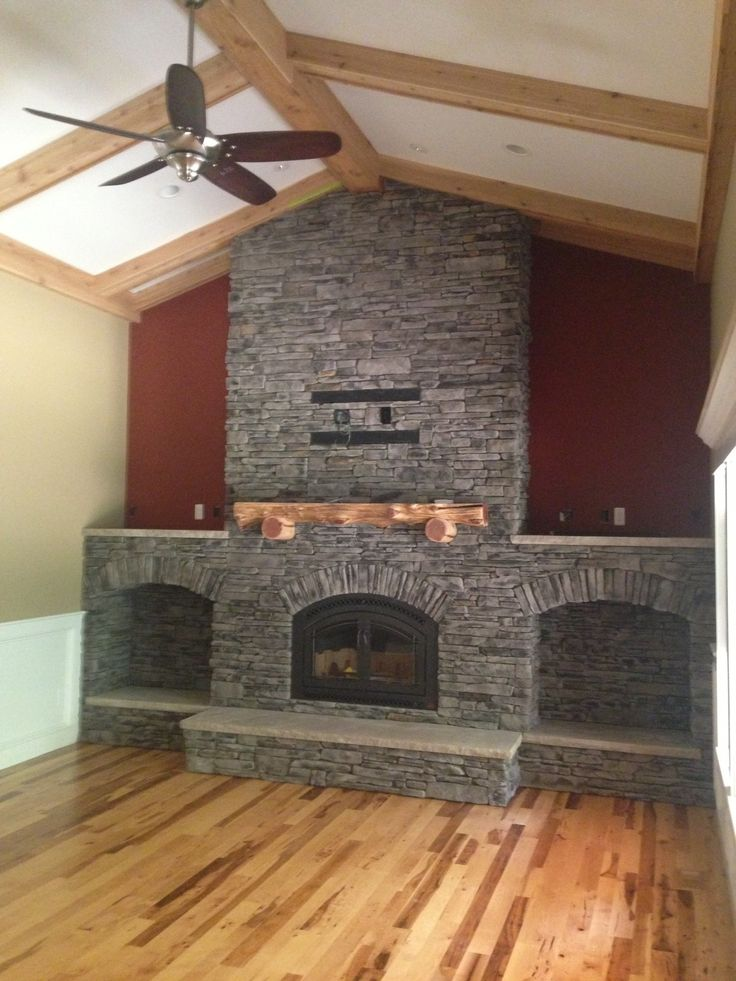 Fireplace Design fireplace etc : 32 best interior stone design ideas (fireplaces, basements, etc ...