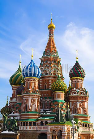 75 best images about famous landmarks art prints on pinterest for Famous landmarks in russia