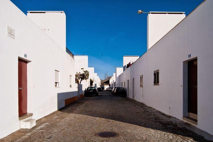 Maisons en bande, Bairro da Malagueira, Évora, Espagne, Alvaro Siza