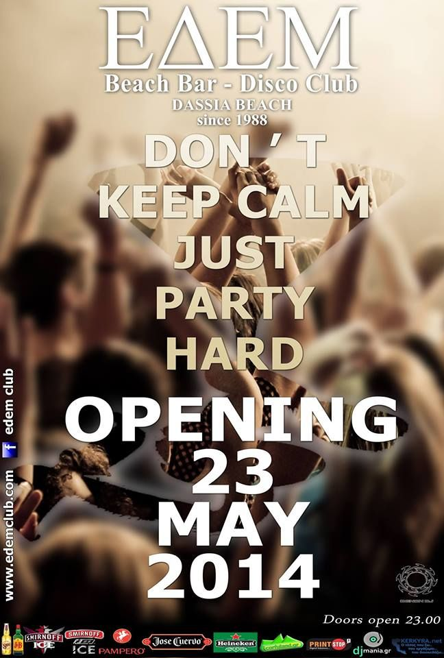 EDEM: OPENING PARTY 23 May 2014 :: Corfu2day.com
