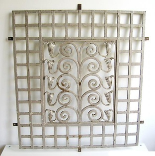 1000 images about art nouveau antiques on pinterest ceramic vase organic form and wrought iron - Decorative window grills ...